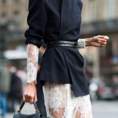 A Belted Blazer