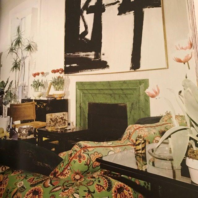 Jane Holzer's living room