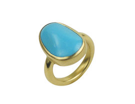 Me & Ro Turquoise Ring