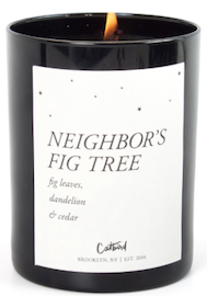 Catbird Neighbor's Fig Tree Candle