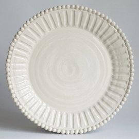 Frances Palmer beaded dinner plate
