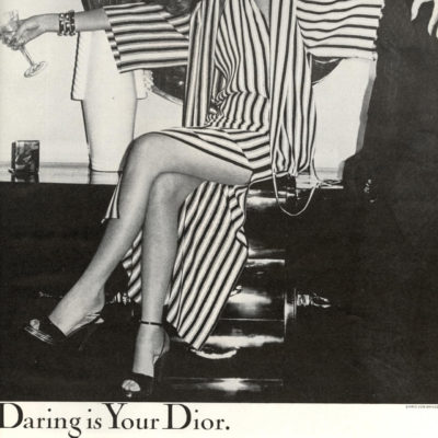 Chic + Cheeky: Vintage Dior