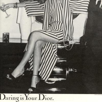 Chic + Cheeky: Vintage Dior