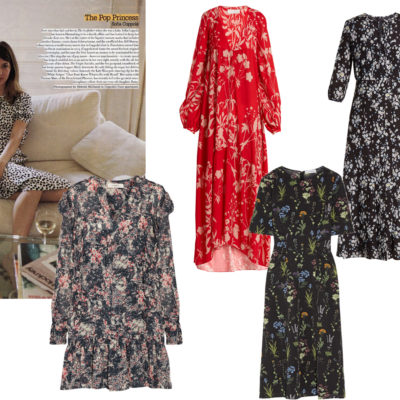 Fall Transition: Floral Dress