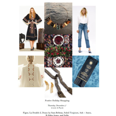 You're Invited: A Holiday With Flair Pop-Up Shop