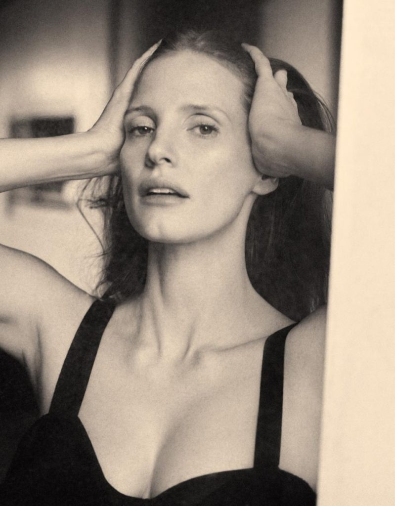 Jessica Chastain: Hollywood's Future in WSJ