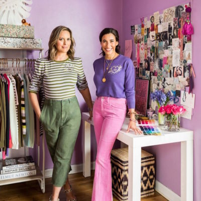 The Modern Monogram: Le Lion's Martha Fish & Laura Gelfand