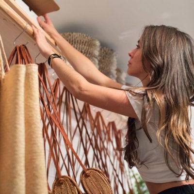 Designer of Summer's Straw Bag: Bembien's Yi-Mei Truxes
