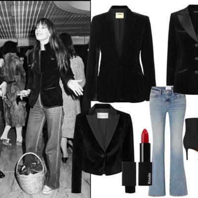 Festive Dress Go-To #1: A Velvet Blazer