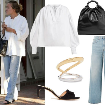 The Perfect White Shirt + Jeans