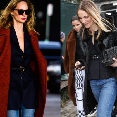 Weekly Obsession: The Belted Blazer