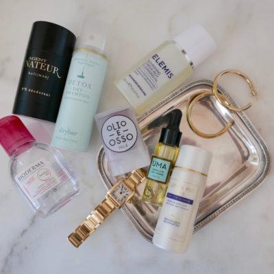 Travel Beauty Essentials (carry-on, of course)