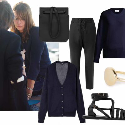 Everyday Outfit #4: The Understated Allure of  Navy + Black