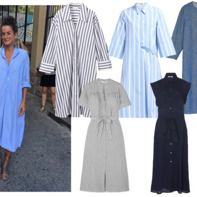 A Summer Shirtdress