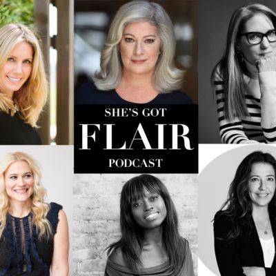 Have you listened to my podcast She's Got Flair yet?