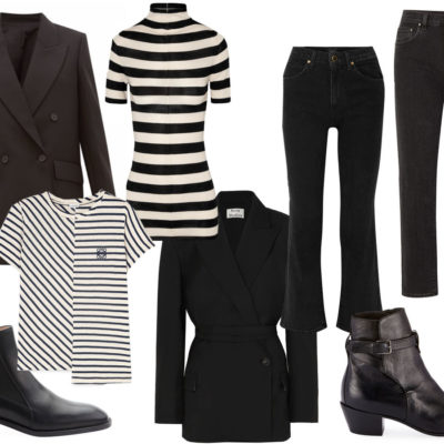 Urban Classic: Black + Stripes
