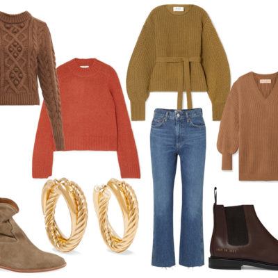 Knits in Autumn Shades