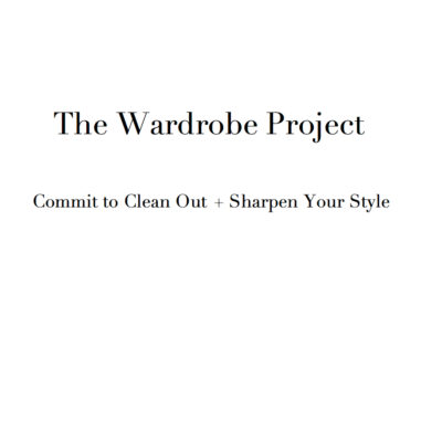 Launching Today: The Wardrobe Project