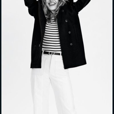 Fall Updates 2 + 3: A Gold-Button Blazer and a Striped Top