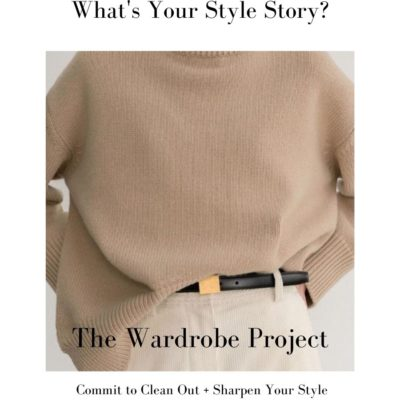 What's Your Style Story? Find it with The Wardrobe Project
