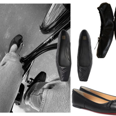 A Chic Wear Now Shoe: The Ballet Flat