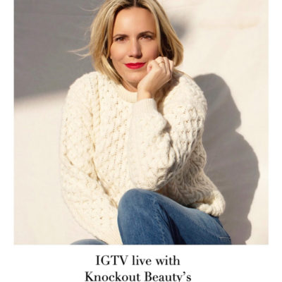 Winter Beauty Tips: IGTV live tomorrow with Knockout Beauty's Cayli Cavaco Reck
