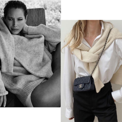 "Style Tweak: A Sweater ""Scarf"""