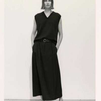 A Longer Skirt for Spring