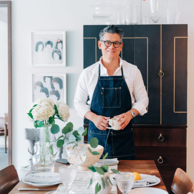 Talking Fashion & Food with Peter Som