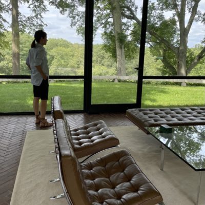 The Glass House Visit
